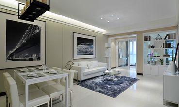70平米公寓现代简约风格客厅图片大全