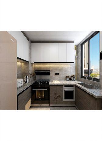 140平米四室一厅中式风格厨房欣赏图