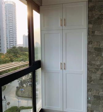 130平米三室两厅美式风格阳光房设计图