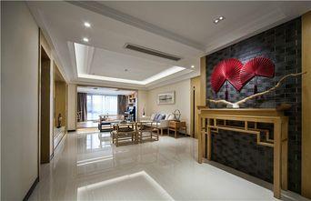 90平米公寓中式风格玄关效果图