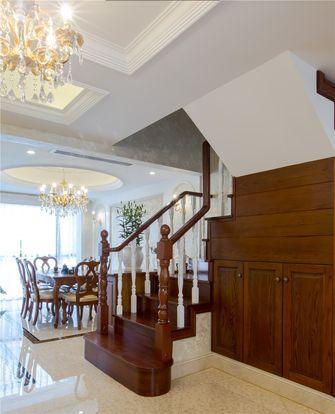 140平米复式欧式风格楼梯间图