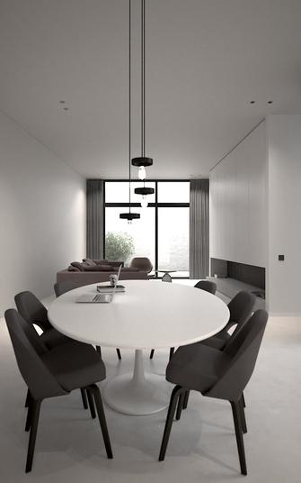 70平米三英伦风格客厅设计图