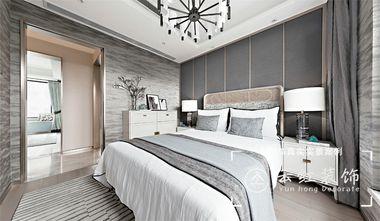 120平米复式现代简约风格卧室装修案例