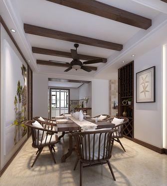 10-15万110平米三室两厅东南亚风格餐厅装修效果图