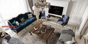 140平米四室三厅法式风格客厅欣赏图