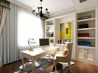 3万以下140平米四室四厅欧式风格书房装修案例
