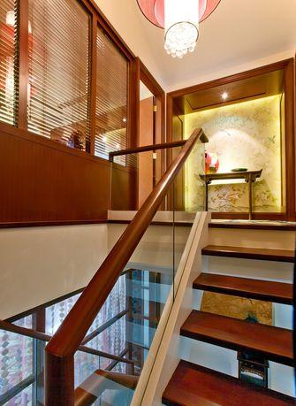 富裕型140平米三室两厅新古典风格楼梯欣赏图