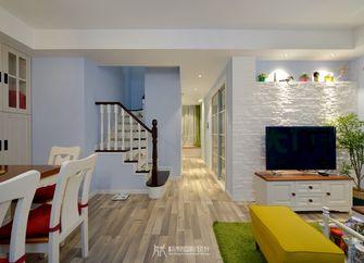 富裕型80平米复式欧式风格走廊装修图片大全
