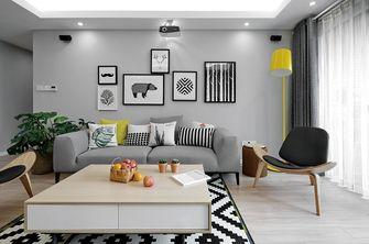 90平米欧式风格客厅背景墙图片