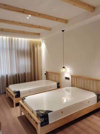 120平米三室一厅日式风格卧室图