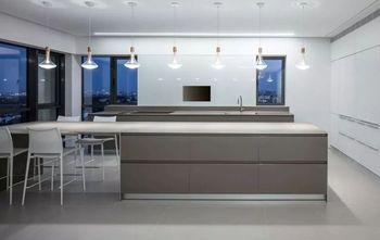 110平米一室两厅现代简约风格餐厅图