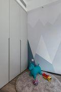 80平米四室两厅现代简约风格儿童房图片