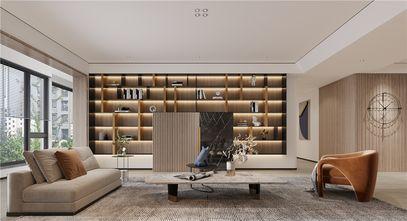 140平米三室三厅现代简约风格客厅图片