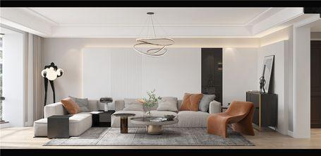 140平米复式北欧风格客厅装修效果图