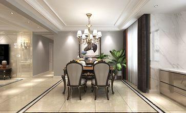130平米三室两厅欧式风格餐厅图片大全