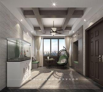 140平米四室两厅现代简约风格玄关飘窗欣赏图