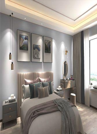 140平米三室一厅混搭风格卧室装修图片大全
