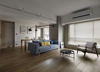 110平米四日式风格客厅设计图