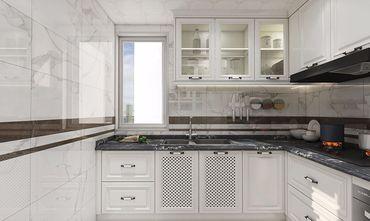 130平米四田园风格厨房设计图
