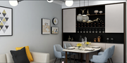 140平米公寓其他风格餐厅装修图片大全