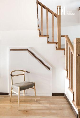 20万以上140平米复式日式风格楼梯图