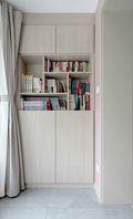 110平米三日式风格书房效果图