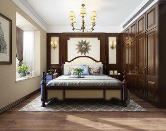 120平米三室两厅美式风格卧室图