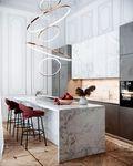 130平米四新古典风格厨房欣赏图