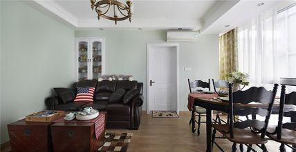 50平米一居室美式风格客厅设计图