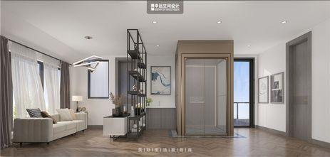 140平米别墅现代简约风格楼梯间设计图