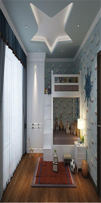 140平米三新古典风格儿童房效果图