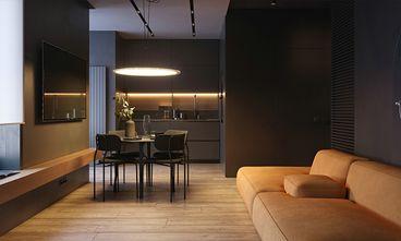 70平米三室两厅英伦风格餐厅图片