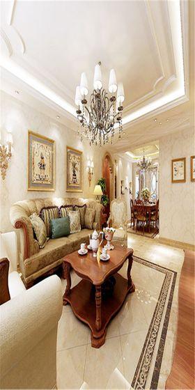 140平米四室兩廳歐式風格客廳圖