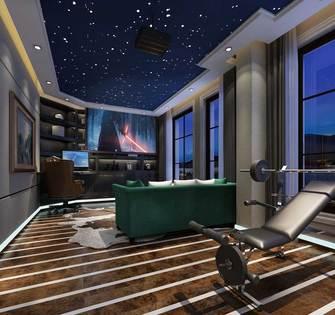 140平米四室两厅法式风格健身室图片大全