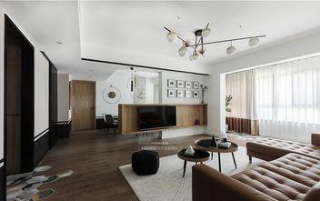 120平米三室两厅混搭风格客厅图