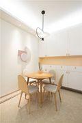 80平米日式风格餐厅装修效果图