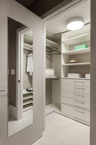 110平米公寓现代简约风格衣帽间图