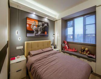 140平米三室一厅北欧风格卧室装修图片大全