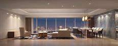 140平米英伦风格客厅装修效果图