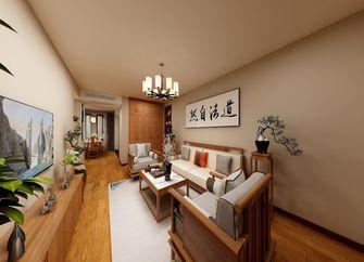 70平米一室两厅中式风格客厅装修案例