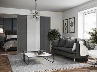 80平米一室一厅宜家风格客厅装修效果图