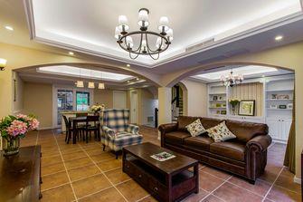 豪华型140平米别墅美式风格客厅图