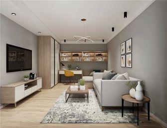 60平米一室一厅日式风格客厅装修案例