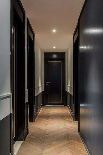 130平米三室两厅英伦风格走廊装修效果图