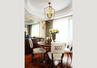 140平米三室五厅欧式风格餐厅装修案例
