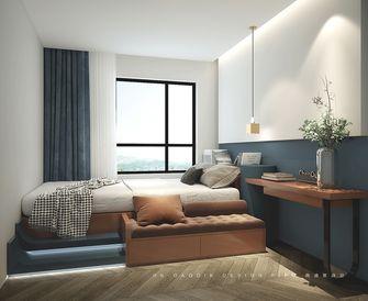 80平米一室一厅现代简约风格卧室图