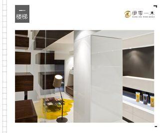 10-15万100平米公寓英伦风格走廊装修案例