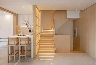 140平米复式日式风格楼梯间图片