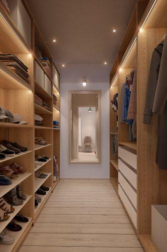70平米一居室北欧风格衣帽间欣赏图