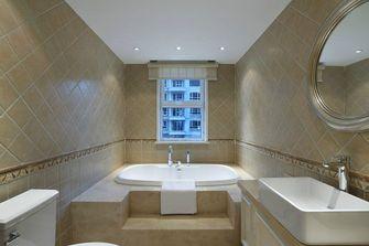 60平米一居室美式风格卫生间图